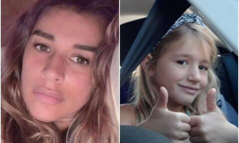 Η Έρρικα Πρεζεράκου και η 7χρονη ανιψιά της που παλεύει με τον Καρκίνο