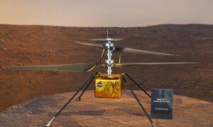 NASA: Νέα εποχή στην εξερεύνηση διαστήματος -Το ελικόπτερο της NASA «πέταξε» στον πλανήτη Άρη