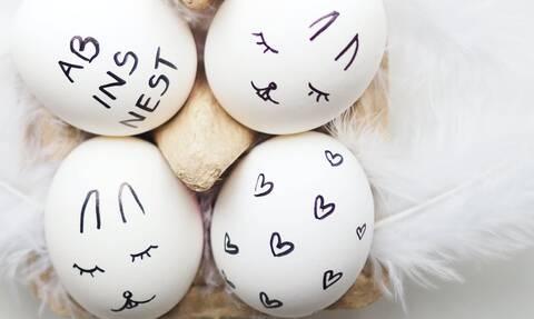 25 ιδέες για να βάψετε & να διακοσμήσετε τα πασχαλινά αυγά
