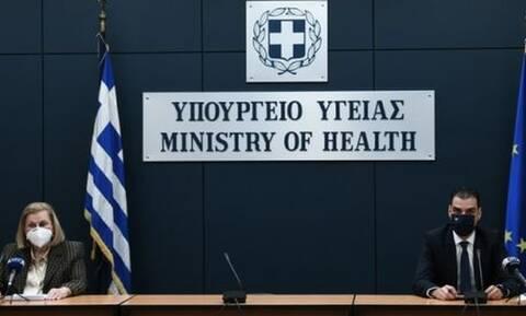 LIVE: Η ενημέρωση για το εθνικό σχέδιο εμβολιαστικής κάλυψης