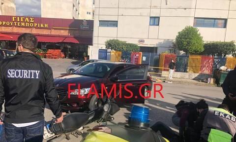 Πάτρα: Οδηγός μοτοσυκλέτας εκσφενδονίστηκε μετά από σύγκρουση με ταξί
