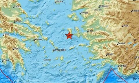 Σεισμό στη Χίο