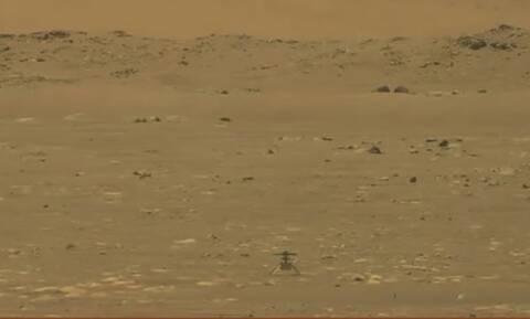 NASA: Το βίντεο με την πρώτη ιστορική πτήση ελικοπτέρου στον Άρη