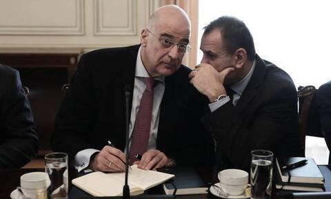 Σαουδική Αραβία: Δένδιας και Παναγιωτόπουλος - Συνάντηση με τον γγ του Συμβουλίου Συνεργασία