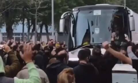 Άρης-ΠΑΟΚ: Κερκίδα πριν το ντέρμπι - Χαμός στο «Βικελίδης»
