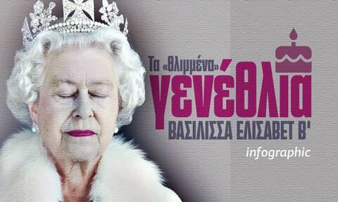 Bασίλισσα Ελισάβετ: Τα πρώτα γενέθλια σήμερα χωρίς...τον πρίγκιπά της-Το Infographic του Νewsbomb.gr