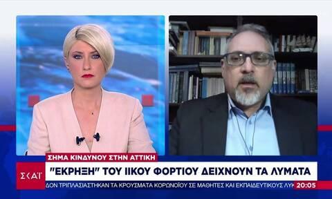 Θωμαΐδης: Τα κορονοπάρτι σχετίζονται με την αύξηση του ιικού φορτίου - Έχουμε εκτεταμένη διασπορά