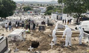 Κορονοϊός στη Βραζιλία: Τους 378.002 έφτασαν οι νεκροί - Πάνω από 14 εκατ. τα κρούσματα