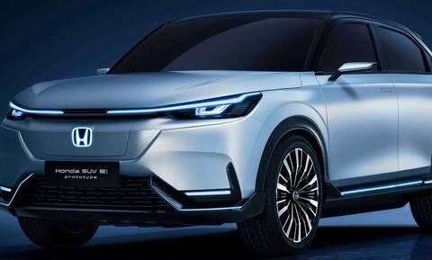 To Honda SUV E:Prototype Concept προετοιμάζει το έδαφος για ένα ηλεκτρικό SUV
