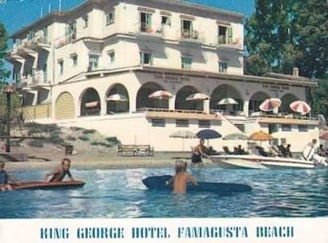 Το ξενοδοχείο τότε...