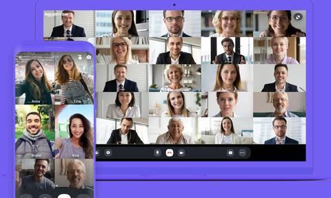 Η Rakuten Viber αυξάνει στους 30 τον αριθμό χρηστών που μπορούν να μετέχουν σε μια βιντεοκλήση