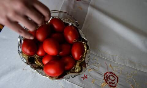 Αυγά πασχαλινό τραπέζι