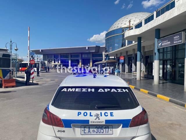 Τηλεφώνημα για βόμβα στα ΚΤΕΛ «Μακεδονία»