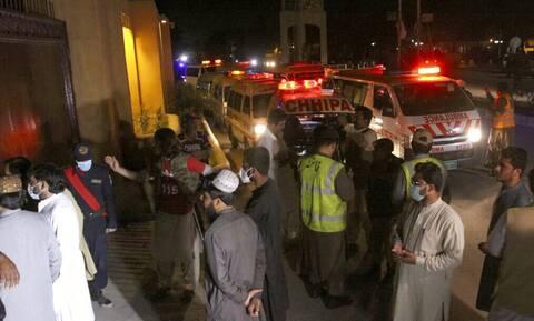 Πακιστάν έκρηξη