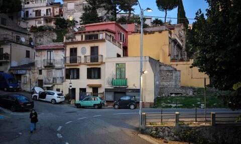 H πόλη Κατανζάρο της Ιταλίας.