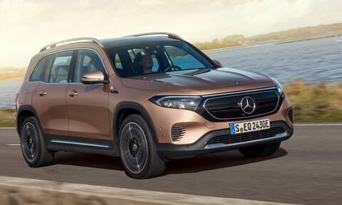 Η Mercedes παρουσίασε και την ηλεκτρική εκδοχή της GLB, την EQB
