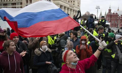 Ρωσία: Χιλιάδες συλλήψεις σε συγκεντρώσεις για τον Αλεξέι Ναβάλνι