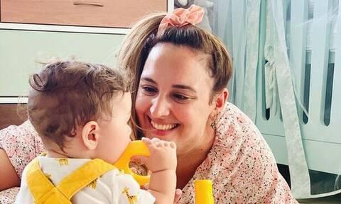 Κλέλια Πανταζή: Η πιο αστεία φωτογραφία του γιου της είναι αυτή