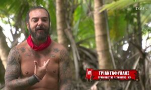 Survivor: Όργιο φημών για άμεση οικειοθελή αποχώρηση του Τριαντάφυλλου - Το σοβαρό πρόβλημά του