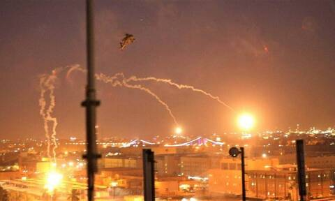 Ιράκ: Τρεις ρουκέτες έπληξαν το διεθνές αεροδρόμιο της Βαγδάτης