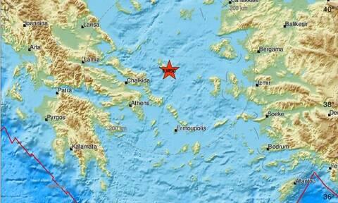 Σεισμός κοντά στη Σκύρο (pics)