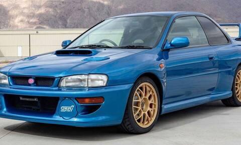 Δεν θα πιστεύετε πόσο πωλήθηκε ένα σπάνιο Subaru Impreza 22B STi