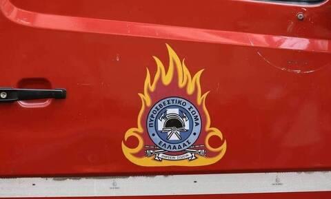 Φωτιά σε φορτηγό: Έκλεισε η Αθηνών - Λαμίας
