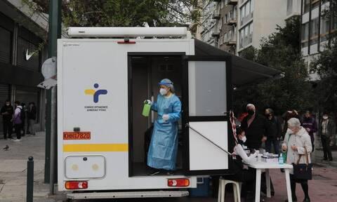 Κρούσματα σήμερα: 1.355 νέες μολύνσεις στην Αττική και 343 στη Θεσσαλονίκη - Αναλυτικά η διασπορά