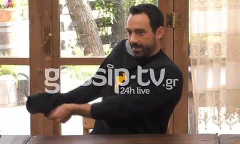 Η Φάρμα: Αποκλειστικό βίντεο! Ο Σάκης έβγαλε την μπλούζα του και έγινε πανικός!