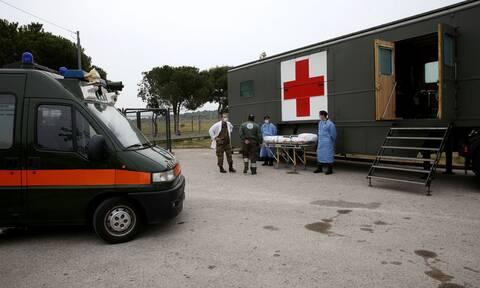 Στρατός Ξηράς: Πανταχού παρών και στην πανδημία – Έστησε νοσοκομείο εκστρατείας στο Θριάσιο