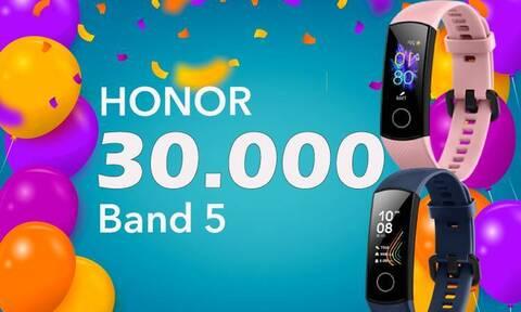 30.000 Honor Band 5 πουλήθηκαν στην ελληνική αγορά!