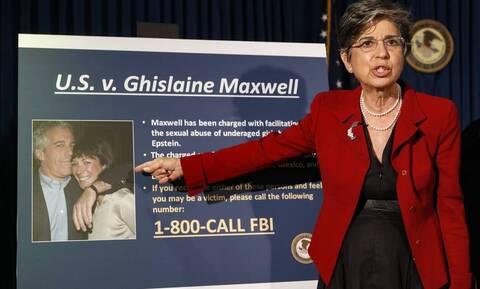 Υπόθεση Επστάιν: Αθώα δηλώνει η Γκισλέιν Μάξγουελ, στη νέα κατηγορία για σωματεμπορία ανηλίκου