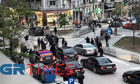 Θεσσαλονίκη: Μηχανοκίνητη πορεία για την επέτειο μνήμης της Γενοκτονίας των Αρμενίων