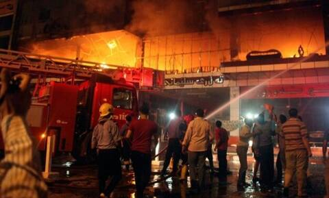 Ιράκ: Τουλάχιστον 23 νεκροί σε πυρκαγιά σε νοσοκομείο για ασθενείς κορονοϊού στην Βαγδάτη