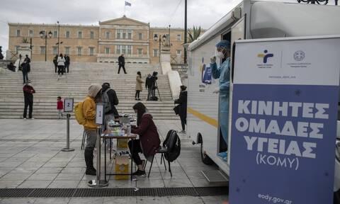 Κορονοϊός: Τα 122 σημεία σε όλη τη χώρα που θα πραγματοποιηθούν δωρεάν rapid test σήμερα (26/4)