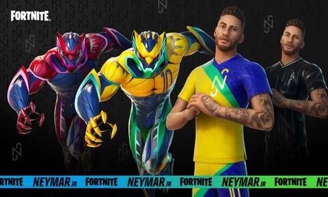 O Neymar Jr. καταφθάνει αύριο στο δημοφιλές Fortnite (vid)