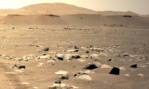Βίντεο: Ταχύτερη, μεγαλύτερη και πιο ριψοκίνδυνη η τρίτη πτήση του Ingenuity στον Άρη