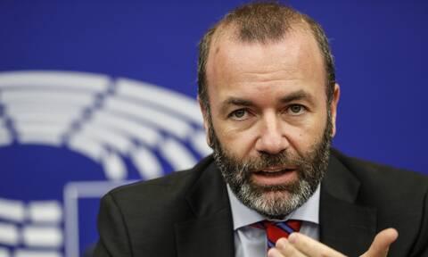 Βέμπερ: Δεν θα δεχτούμε στενότερους δεσμούς με την Τουρκία, εάν ο Eρντογάν δεν αλλάξει πορεία