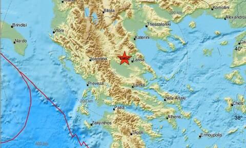 Σεισμός στον Τύρναβο - Κοντά στο Μεσοχώρι το επίκεντρο (pics)