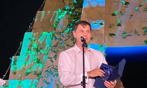 Το βραβείο «Global Champion Award for COVID-19 Crisis Management» απονεμήθηκε στον Θεοχάρη