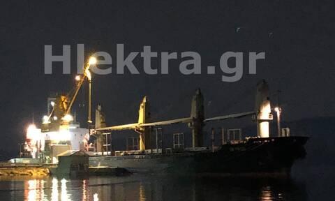 Αυτό είναι το πλοίο με τα 50 κιλά κοκαΐνης που πιάστηκε στους Αγίους Θεοδώρους