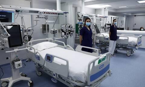 Νοσοκομείο εντατική ΜΕΘ
