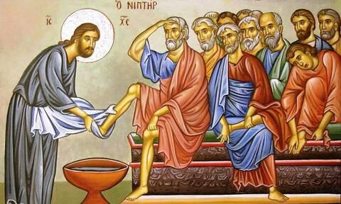 Μεγάλη Τετάρτη - Το Ιερό Ευχέλαιο και η Τελετή του Νιπτήρος: Της αλειψάσης τον Κύριον μύρω
