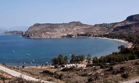 Πανικός στο Ναύπλιο: Δείτε τι εμφανίστηκε στην παραλία Καραθώνα (vid)