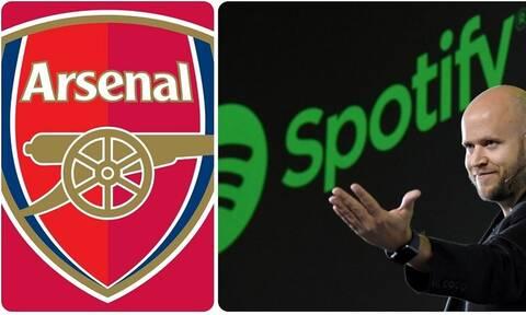 Premier League: Σε ρυθμούς... Spotify η Άρσεναλ! - Ο ιδρυτής του θέλει τους «κανονιέρηδες»