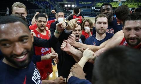 Euroleague: Στο Final Four η ΤΣΣΚΑ του Ιτούδη – Τα στιγμιότυπα των playoffs (videos)