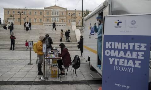 Κορονοϊός: Τα 119 σημεία σε όλη τη χώρα που θα πραγματοποιηθούν δωρεάν rapid test σήμερα (29/4)