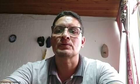 Viral έγινε καθηγητής στην Κολομβία: Φίλησε τα στήθη της φίλης του ενώ έκανε μάθημα με Zoom