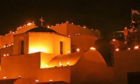Παραδοσιακό έθιμο στη Σαντορίνη που μαγεύει ολόκληρο τον κόσμο