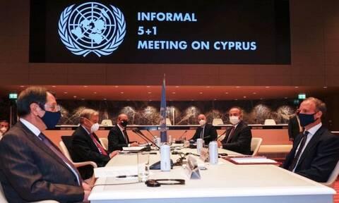 Κυπριακό: «Ναυάγιο» στις συνομιλίες - Η εμμονή των Τούρκων για δύο κράτη οδήγησε σε αδιέξοδο